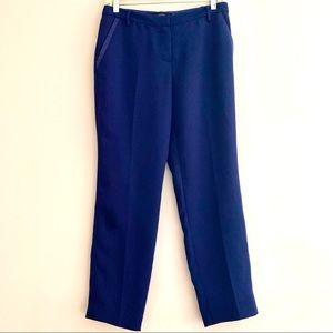 Talula Navy blue Pants front Satin pocket detail